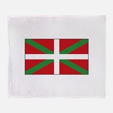Basque Flag Spain Throw Blanket