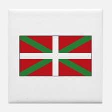 Basque Flag Spain Tile Coaster