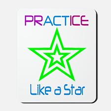 Hula Hoop Dance - Practice Like a Star Mousepad