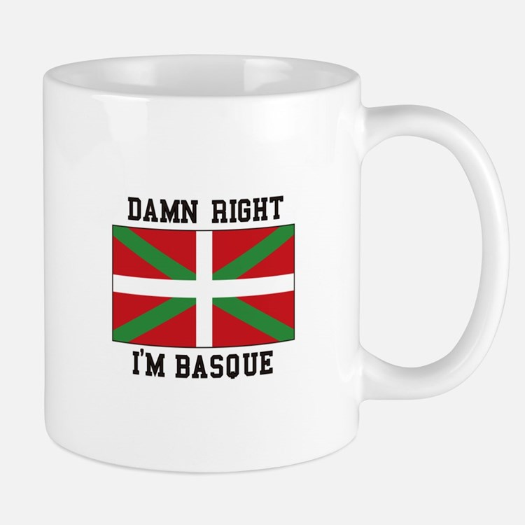 Damn Right I'MBasque Mugs