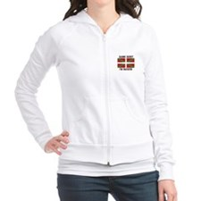 Damn Right I'MBasque Fitted Hoodie