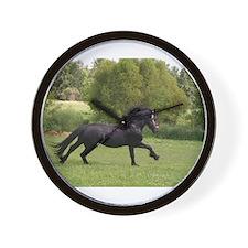 Cute Equestrian art Wall Clock