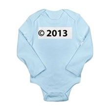 Copyright 2013 Long Sleeve Infant Bodysuit
