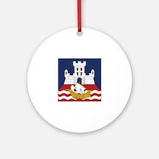Belgrade, Serbia Ornament (Round)