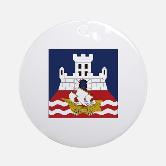 Belgrade, Serbia Ornament (Round)