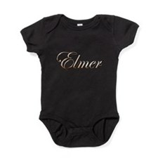 Gold Elmer Baby Bodysuit