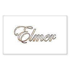 Gold Elmer Decal
