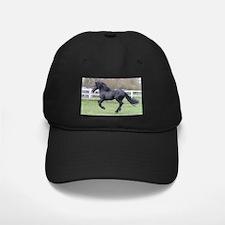 Friesian horse Baseball Hat