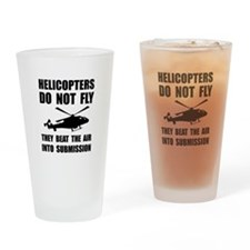 Helicopter Submission Drinking Glass