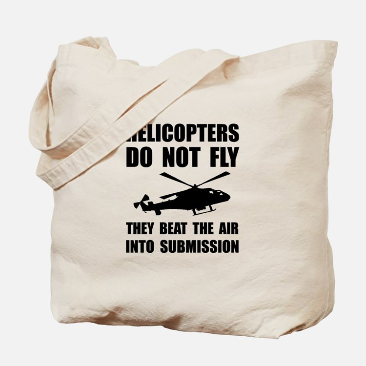 Helicopter Submission Tote Bag