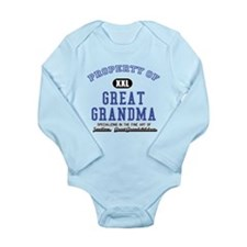 Cute Great grandmothers day Long Sleeve Infant Bodysuit