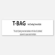 TBAG Bumper Bumper Bumper Sticker