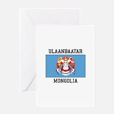 Ulaanbaatar, Mongolia Greeting Cards