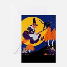 Village Witch Greeting Card