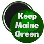 Keep Maine Green Magnet