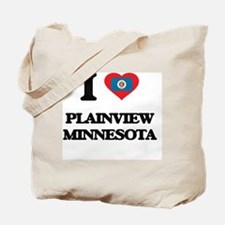 I love Plainview Minnesota Tote Bag