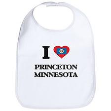 I love Princeton Minnesota Bib