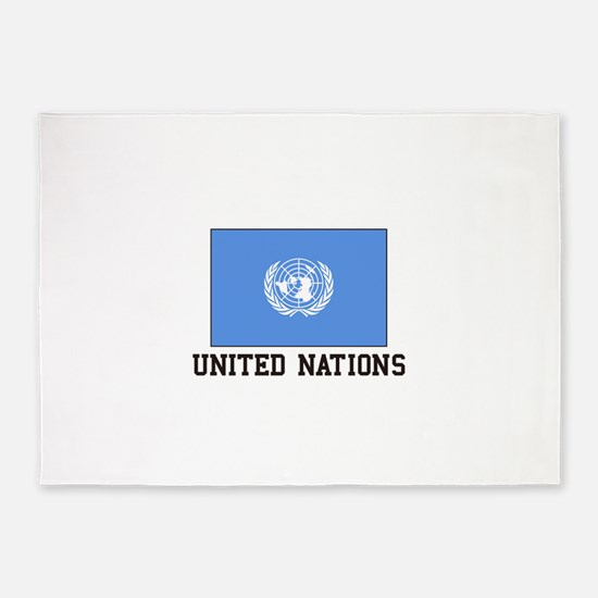 United Nations 5'x7'Area Rug