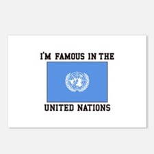 I'M Famous In the United Nations Postcards (Packag