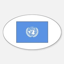 UNITED NATIONS FLAG Decal