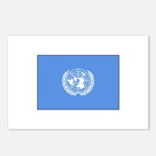 UNITED NATIONS FLAG Postcards (Package of 8)