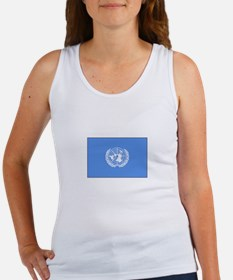 UNITED NATIONS FLAG Tank Top