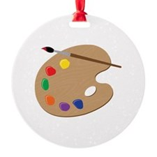 Painters Palette Ornament