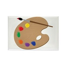 Painters Palette Magnets