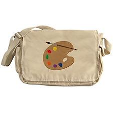Painters Palette Messenger Bag