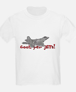 Cool Yer Jets - red T-Shirt