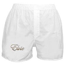 Gold Elvie Boxer Shorts
