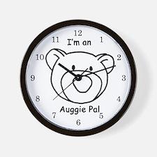 Auggie Pal Wall Clock