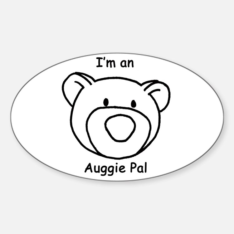 Auggie Pal Oval Decal