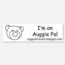 Auggie Pal Bumper Bumper Bumper Sticker