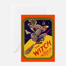 Witch Brand Greeting Card