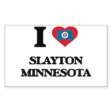 I love Slayton Minnesota Decal