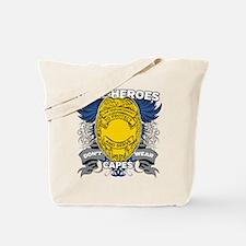 Real Heroes Law Enforcement Tote Bag