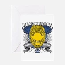 Real Heroes Law Enforcement Greeting Card