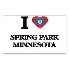 I love Spring Park Minnesota Decal