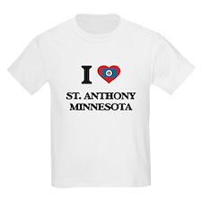 I love St. Anthony Minnesota T-Shirt