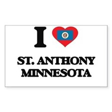 I love St. Anthony Minnesota Decal