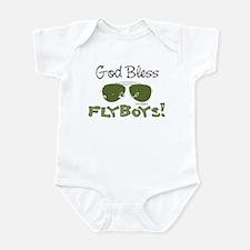 God Bless Flyboys Infant Bodysuit