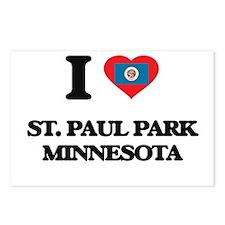 I love St. Paul Park Minn Postcards (Package of 8)