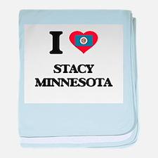 I love Stacy Minnesota baby blanket