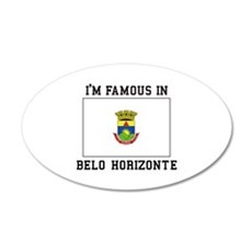 I'M Famous IN Belo Horizonte Wall Decal