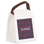 Tartan - Scotland Canvas Lunch Bag