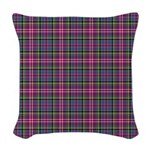 Tartan - Scotland Woven Throw Pillow