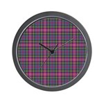Tartan - Scotland Wall Clock