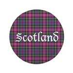 Tartan - Scotland Button