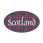 Tartan - Scotland 20x12 Oval Wall Decal